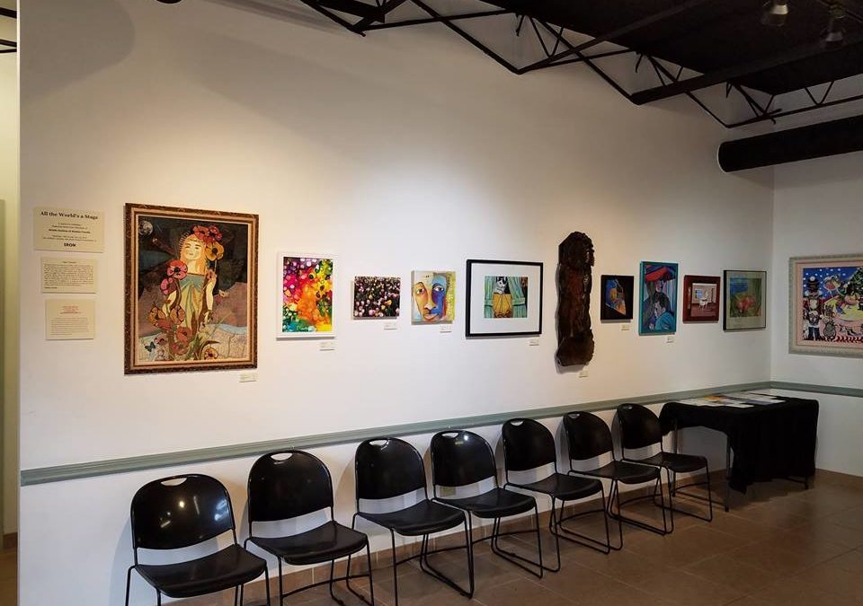 """All the World's a Stage"" Juried Art Exhibit"