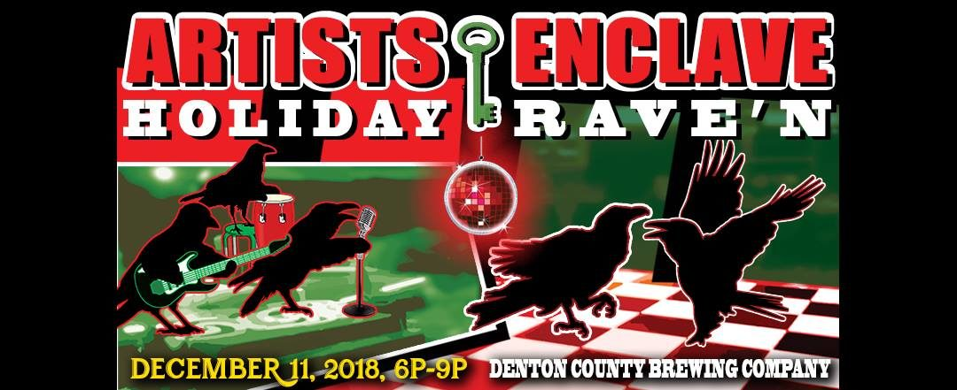 Celebrate at the Holiday RAVE'N party!