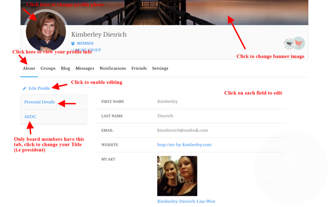 How To Edit Your Profile