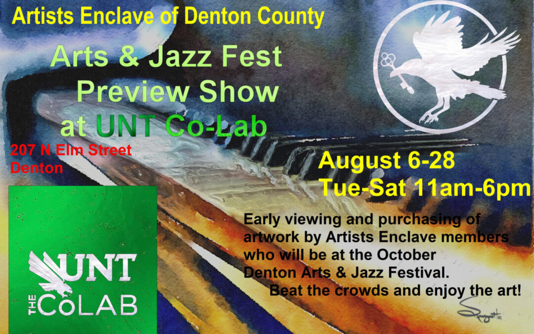 Arts & Jazz Preview at UNT Co-Lab